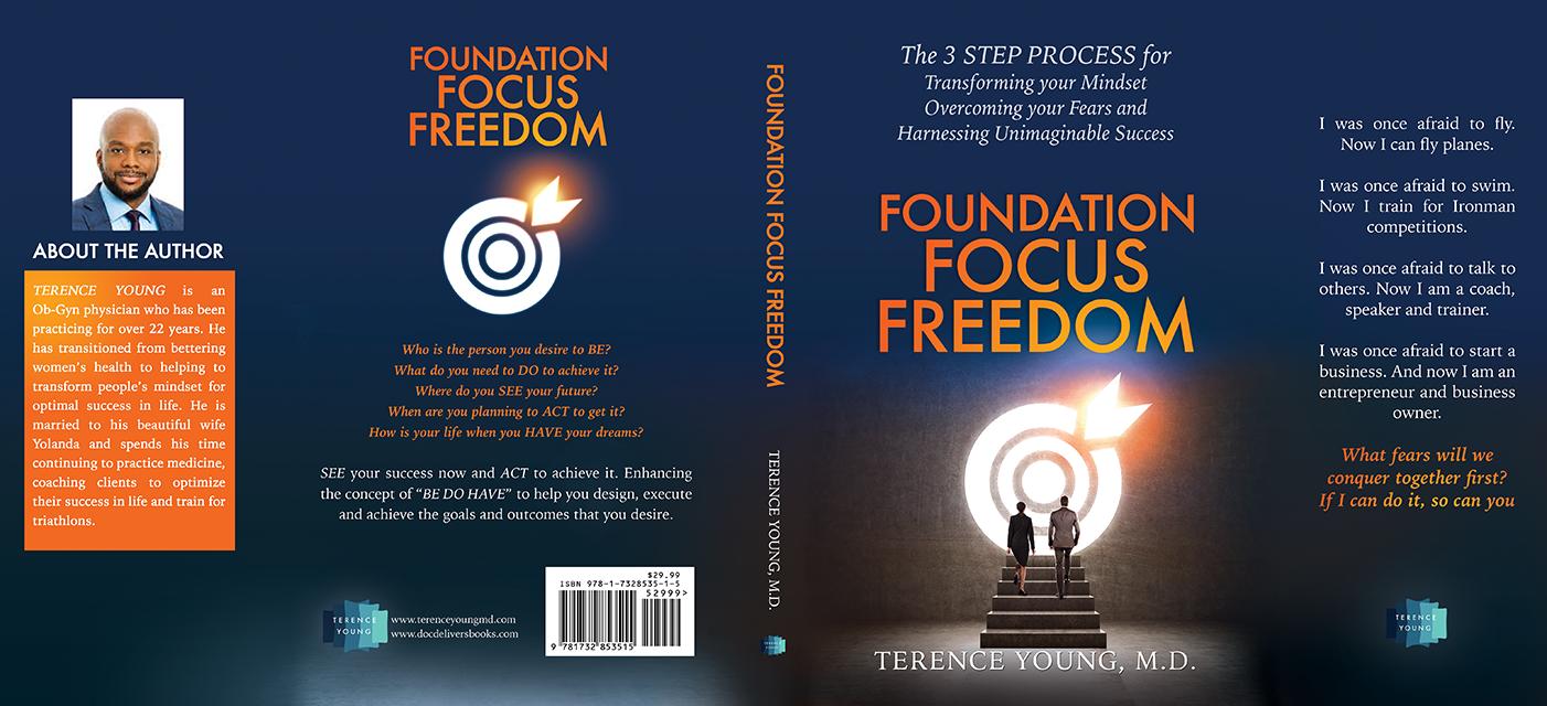 Design a powerful personal development book cover