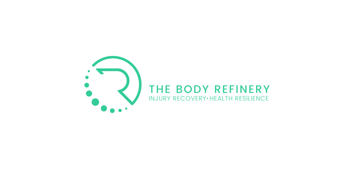 Business cards for 'The Body Refinery'