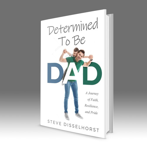 Determined to be DAD book cover