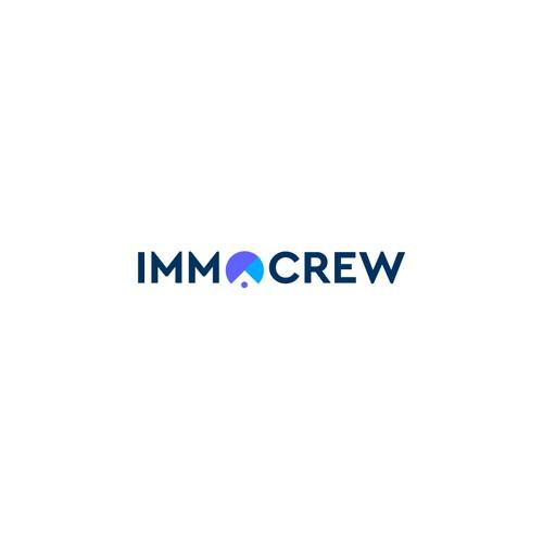 Immocrew Real Estate Company Logo