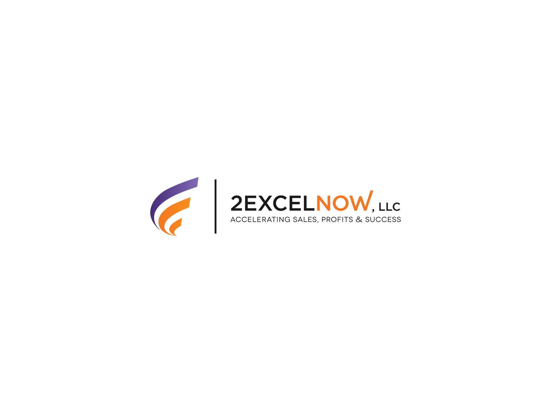 Create the next logo for 2 Excel Now, LLC
