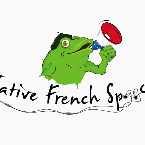 Create the next logo for Native French Speech
