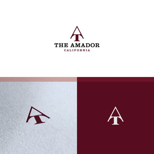 Luxury logo for The Amador