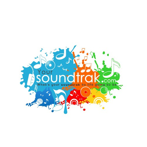 Music meets life ... logo for yoursoundtrak.com