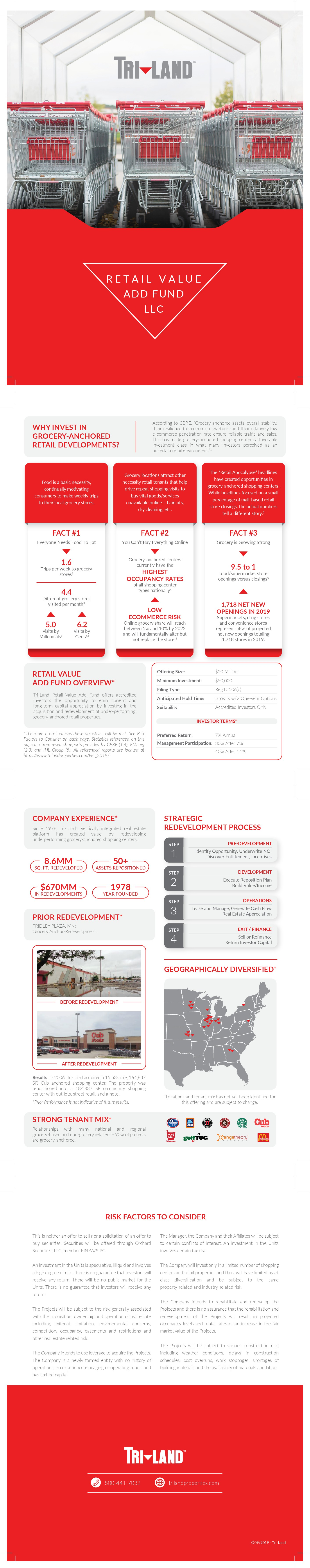 Looking for a professionally creative redesign of Corporate Real Estate Fund Brochure
