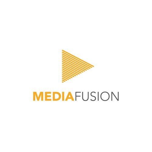 Logo concept for Media Fusion