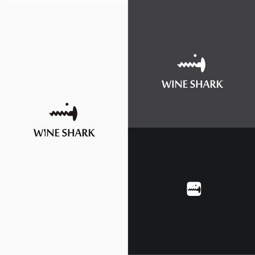 creative logo wine