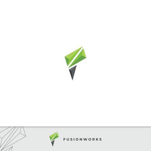 Fusionworks logo concept