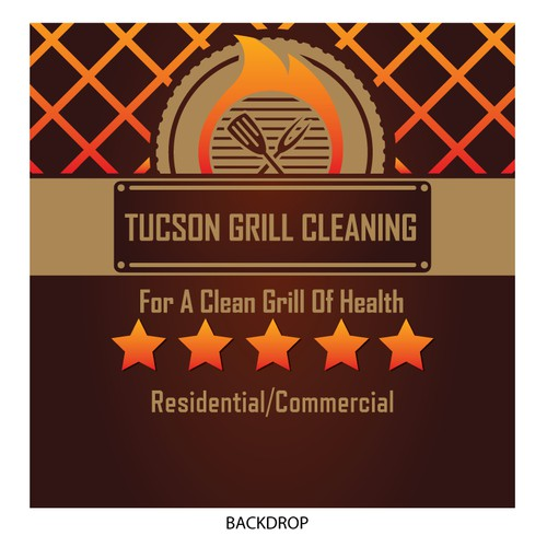 Tucson Grill Cleaning Trade Show Booth