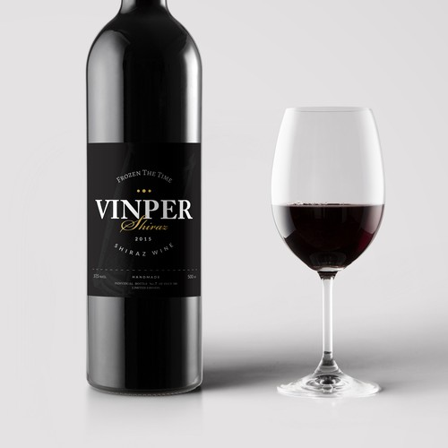 "Label Design for Australian Fine Wine ""Helanda - Vinper Wine"""