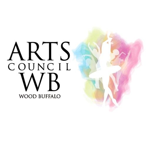 Arts Council Wood Buffalo needs a new logo and business card