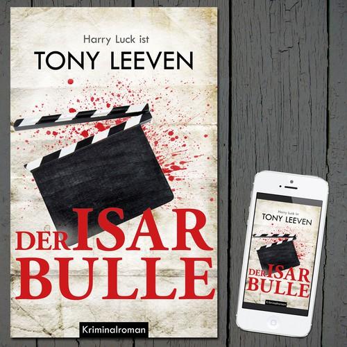 E-book cover for crime story