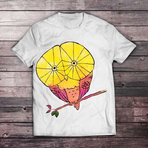 t shirt owl design