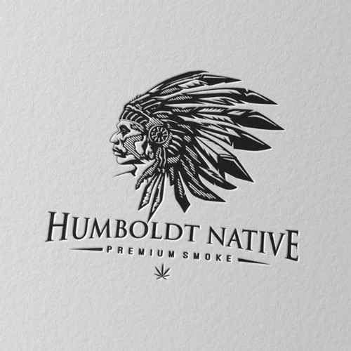 bold logo for Hamboldt Native