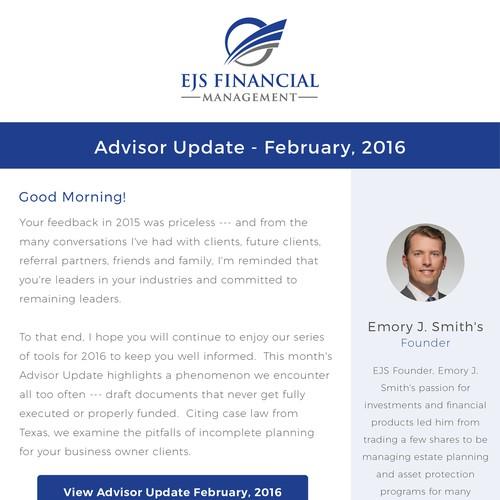Email Design For EJS Financial