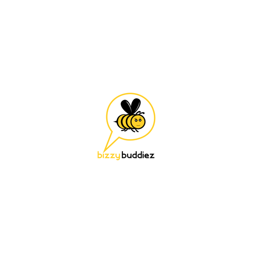 Clean logo for Bizzy Buddiez