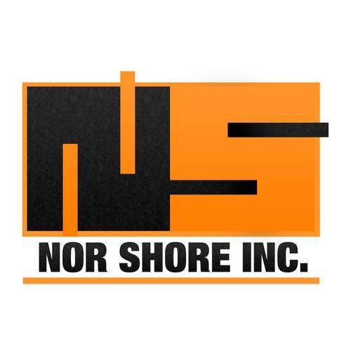 Modern logo for NOR SHORE INC.