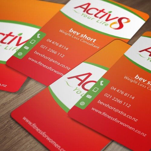 activ8 business card
