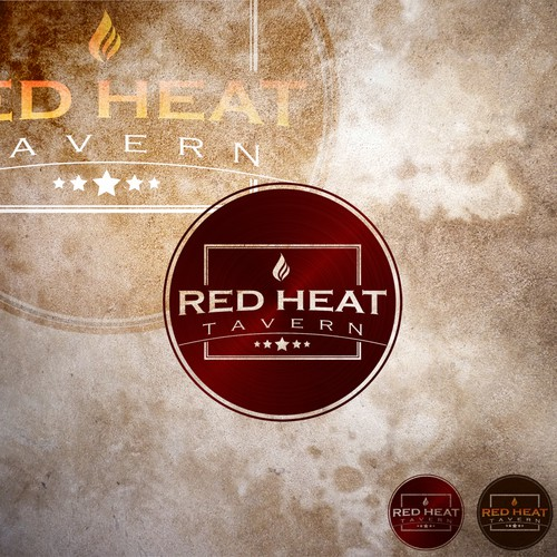 Create the next logo for Red Heat Tavern