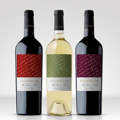 Label design for Australian vinery