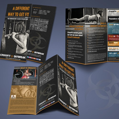 Brochure for CrossFit Outbreak