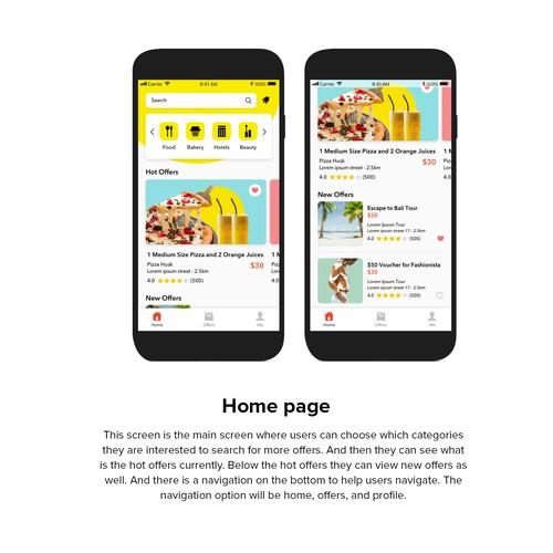 Dusave Mobile App Design
