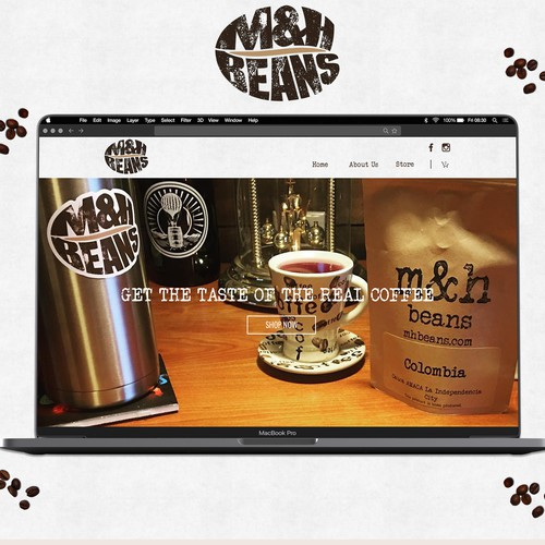 Coffee Roaster Website