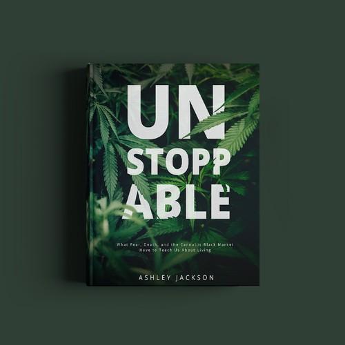 bold book cover hemp cannabis