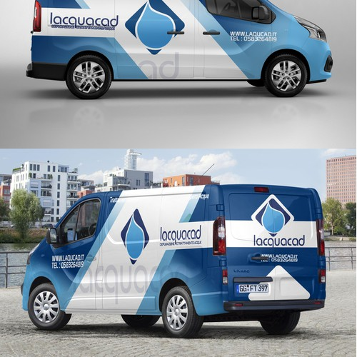 van wrap design for lacquacad