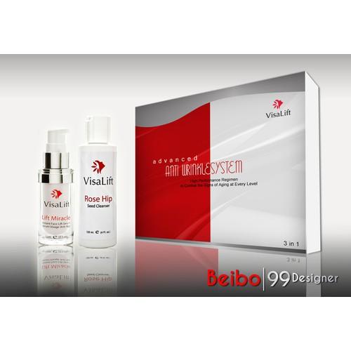 visa lift beauty product pack