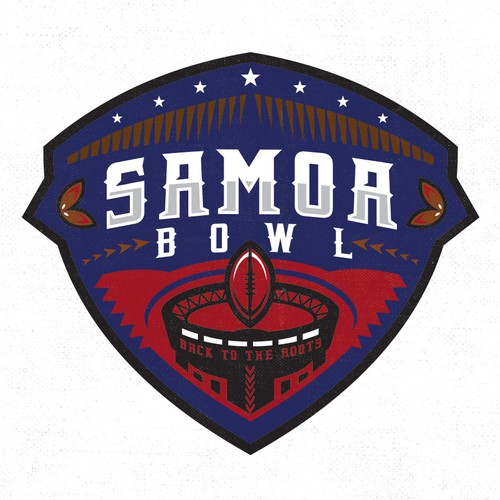 Design Wanted for an annual All Star Football Event - SAMOA BOWL