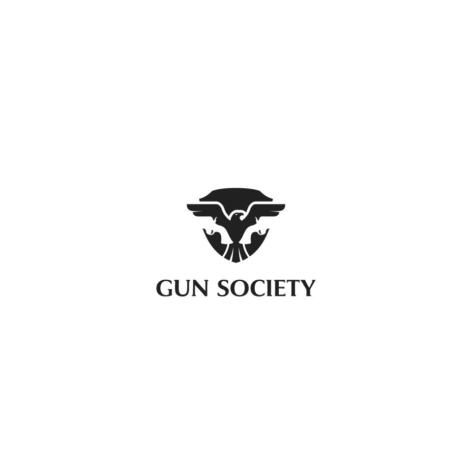 Logo for a Firearms Industry Digital Marketing Agency | Gun Society
