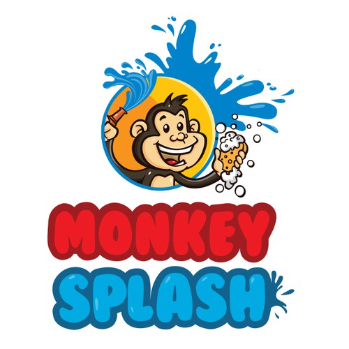 Monkey splash