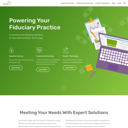 Legal/Banking Website