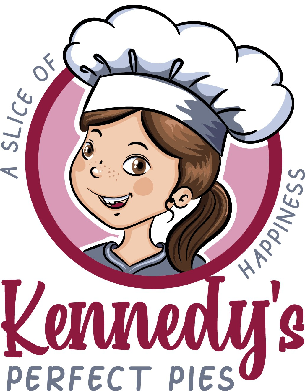 Fun, youthful logo for 9-year-old's baking business