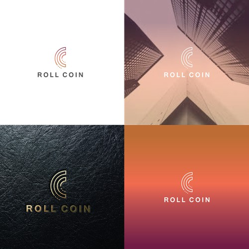 logo for roll coin