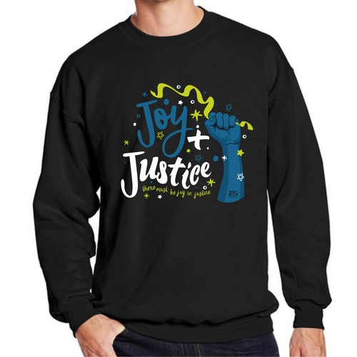 Create: Social Justice Crewneck for the New Year!