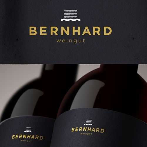 Logo for a vinery