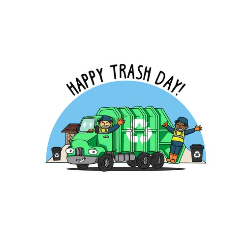 happy trash day