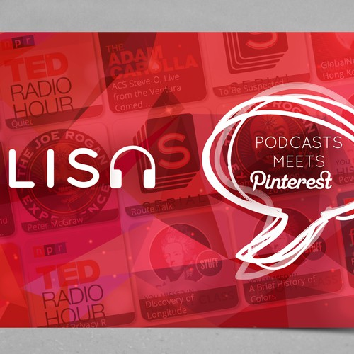 Tradeshow Postcard for Podcast Startup