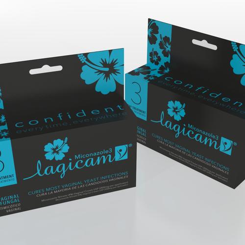 Packaging design for Feminine Hygiene