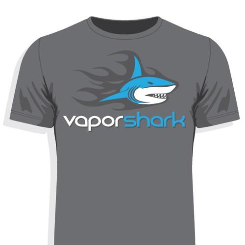 Vapor Shark T-Shirt Illustration Redesign