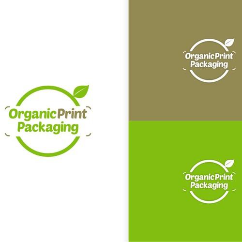 Organic Print Packaging logo