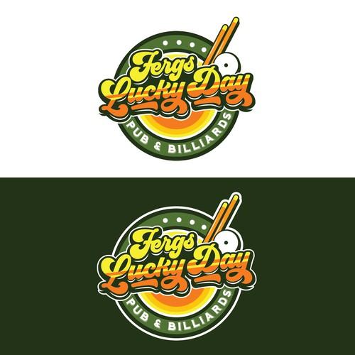 Fergs Lucky Day Logo Concept