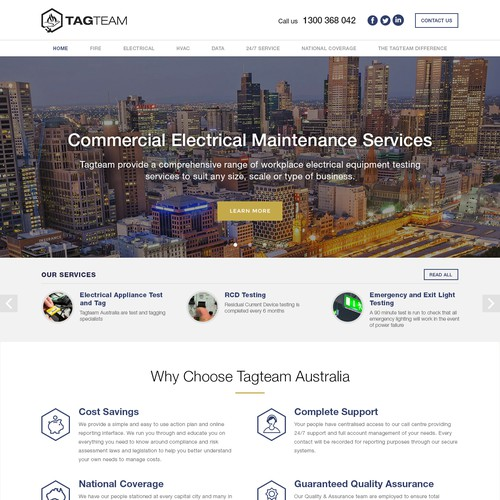 Tagteam website