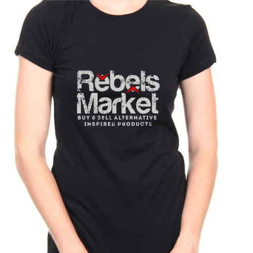 Design Custom/Freehand T-shirts for RebelsMarket Branding Campaign