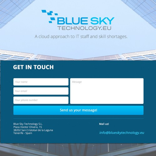 Home Page for BLUESKY