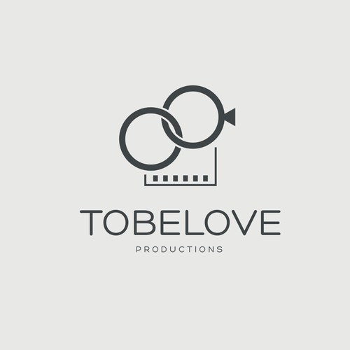 Logo design  for russian wedding service agency TOBELOVE