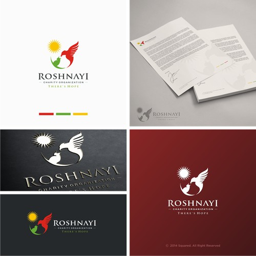 Roshnayi Charity Organisation Logo Design