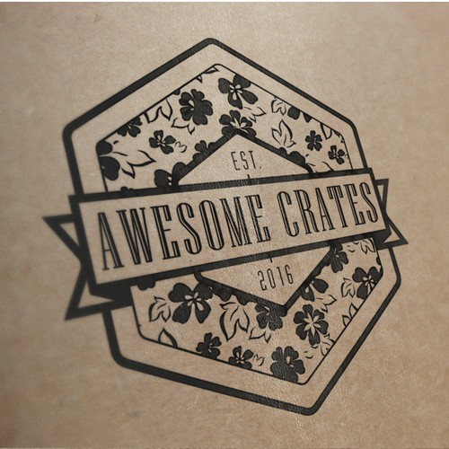 Logo Design For Awesome Crates